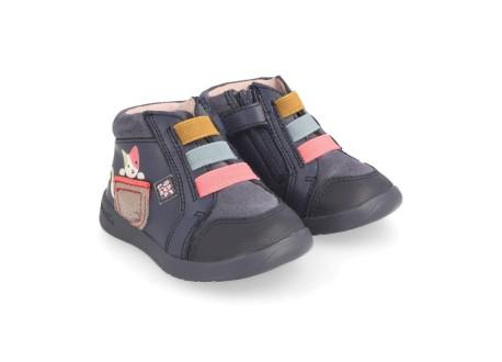 Ботинки Garvalin для девочки - модель - 181330А